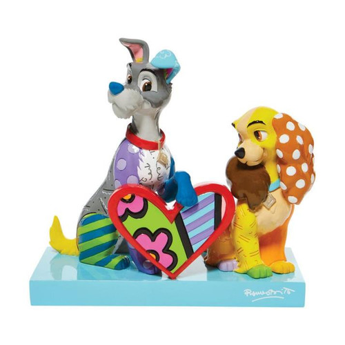 "Disney - Lady & the Tramp Figure 7"" (Limited Edition 3,000) Britto"