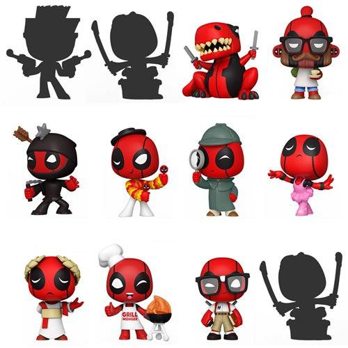 Funko Mini - Deadpool 30th (Mystery Mini Blind Box) [1 Random Box]