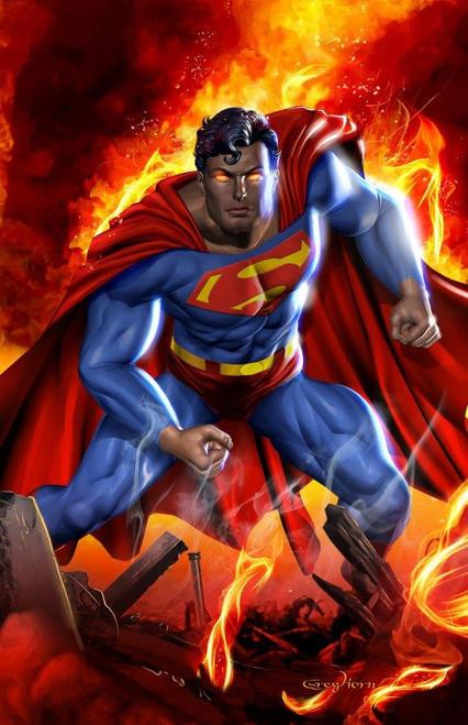 Greg Horn Superman Print (11x17)