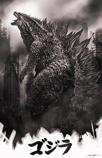 Godzilla : The King Print (11x17)