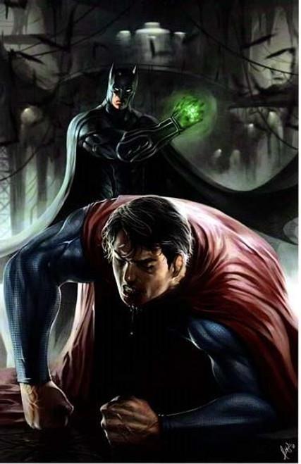 Batman vs Superman Print (11x17)