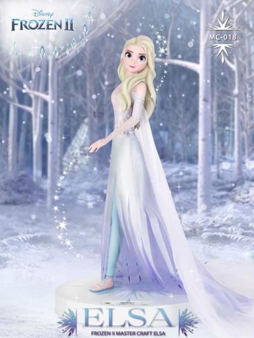Frozen 2 Elsa Master Craft Beast Craft Statue