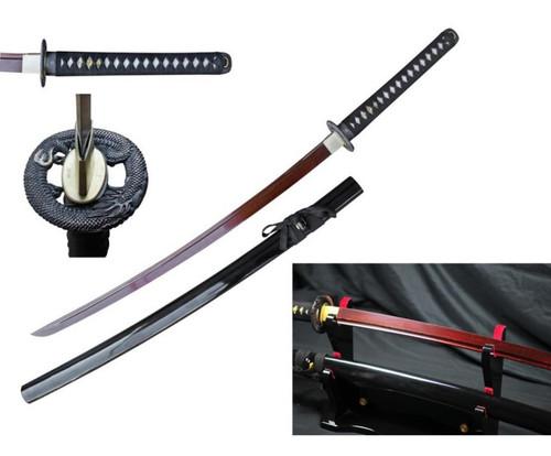 RD Damascus 1045/1060 Samurai Sword Hand Forge