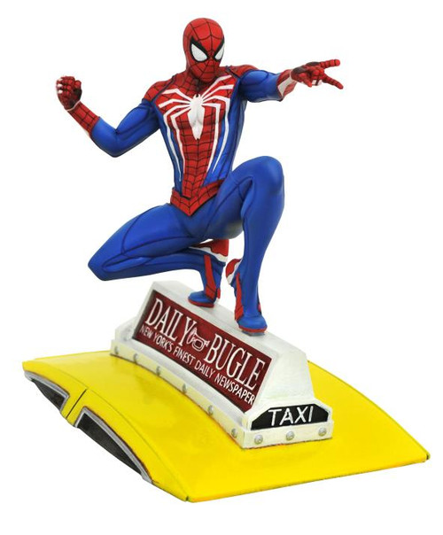 FIGURE MARVEL - PS4 SPIDER-MAN ON TAXI PVC ( GALLERY CLASSIC )