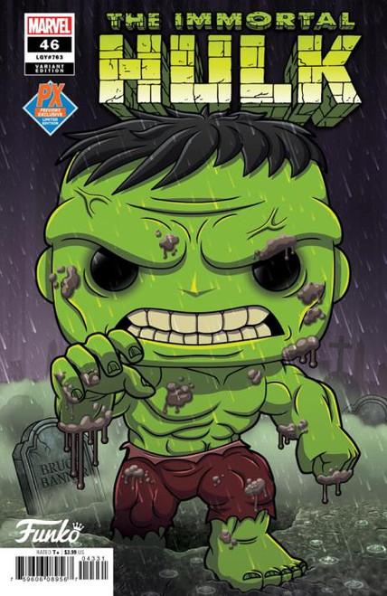 Comic Book - Immortal Hulk #46 Funko PX Exclusive Variant Edition Marvel 2021