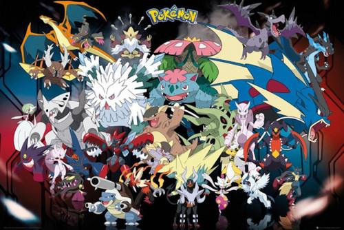 Pokemon Mega Poster