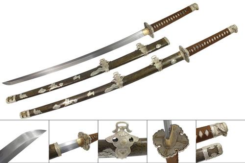 Handmade Edo Period Katana 1095 Carbon Steel
