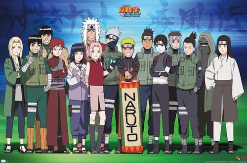 Naruto Makimono Group Poster