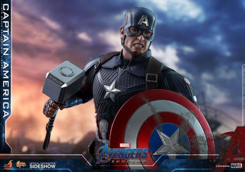 "Figure Marvel - Captain America ""Avengers: Endgame"" Sixth Scale Figure (HT)"