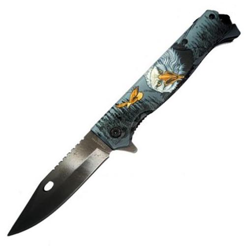 Titanium Coating (Eagle) A/O Pocket Knife