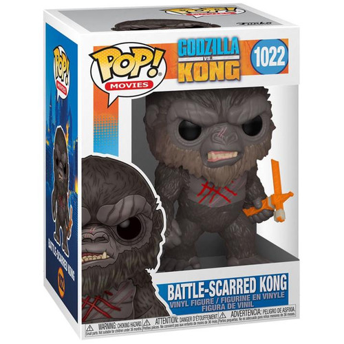 """Funko POP - Battle Scarred Kong """"Godzilla Vs Kong"""" [1022]"""