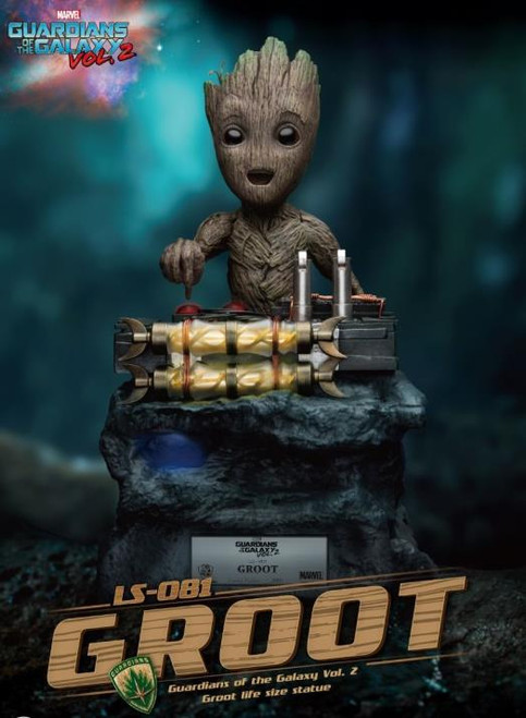 """Figure Marvel - Groot Life Size """"Guardians of the Galaxy Vol. 2"""""""