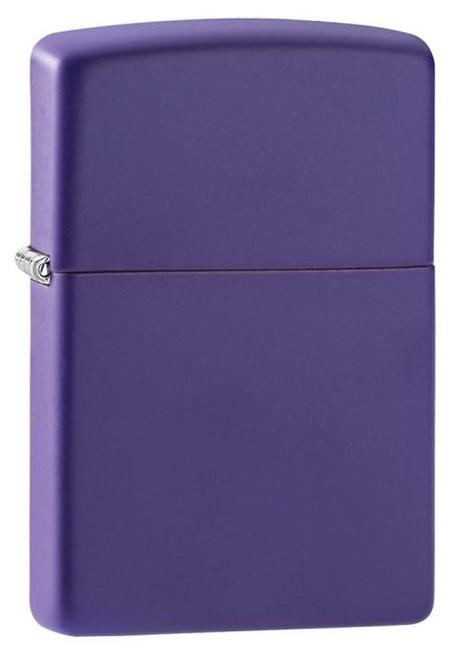 Purple Matte Zippo