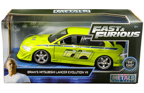 Model Car - 1:24 F&F Mitsubishi Lancer Evo VIII Brian's Green