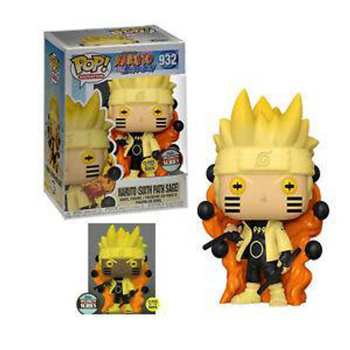 "Funko POP SS - Naruto Six Path Sage (Glow In The Dark) ""Naruto Shippuden"" [932]"