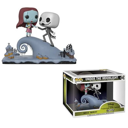 """Funko POP Moment - Jack and Sally on the Hill """"Nightmare Before Christmas"""" [458]"""
