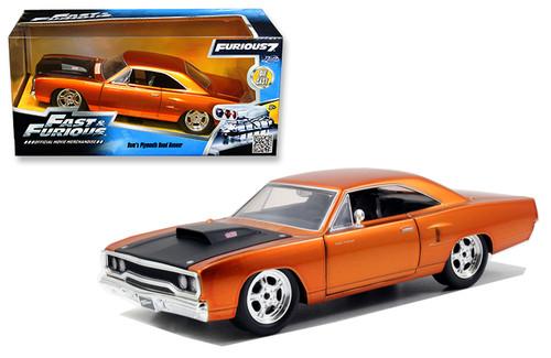 Model Car - 1:24 F&F 1970 Plymouth Roadrunner-Dom's Orange