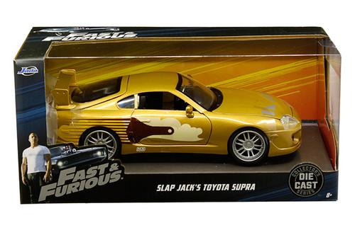 Model Car - 1:24 F&F 1995 Toyota Supra Slap Jack Gold