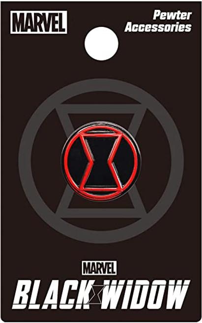 Pin - Black Widow Logo (Color)