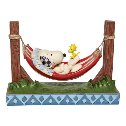 Disney - Snoopy & Woodstock in Hammock (Jim Shore)