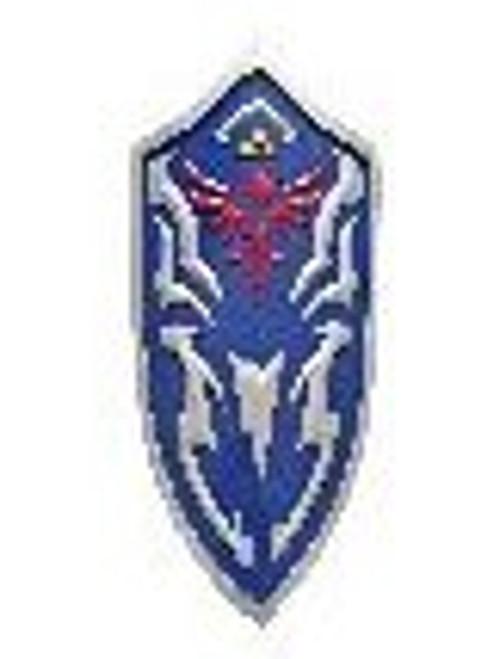 "Zelda Tri Force Shield (BLUE) 30""x19"""
