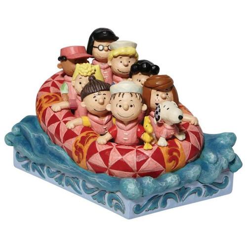 Disney - Peanuts Gang Rafting (Jim Shore)