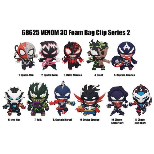3D Foam Key Ring - Venom (Series 2) [1 Random Bag]