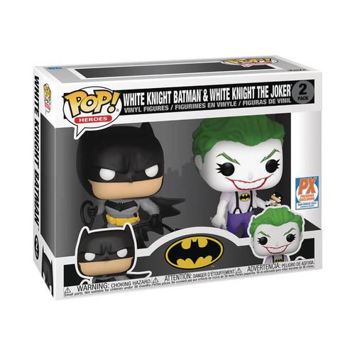 Funko POP 2 Pack - White Knight Batman & White Knight The Joker PX SDCC 2021 [000]
