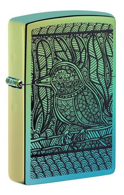 "Bird Design ""John Smith Gumbula"" Zippo"