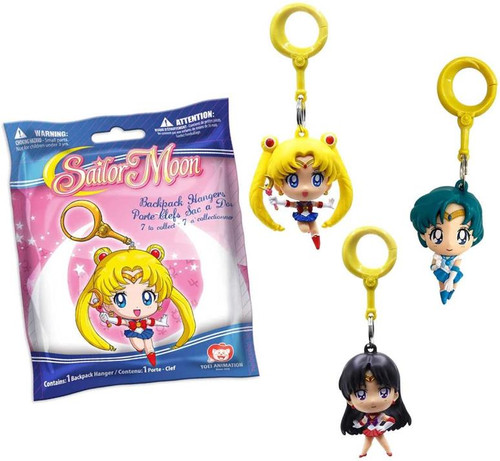 Blind Bag - Sailor Moon Backpack Hangers Mystery Pack [1 Random Bag]