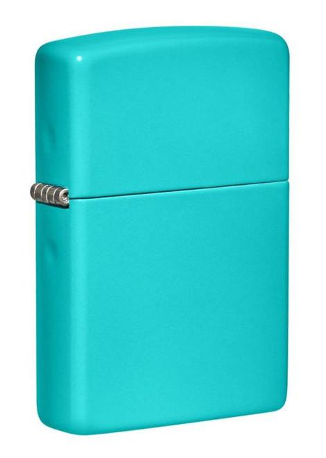 Classic Flat Turquoise Zippo