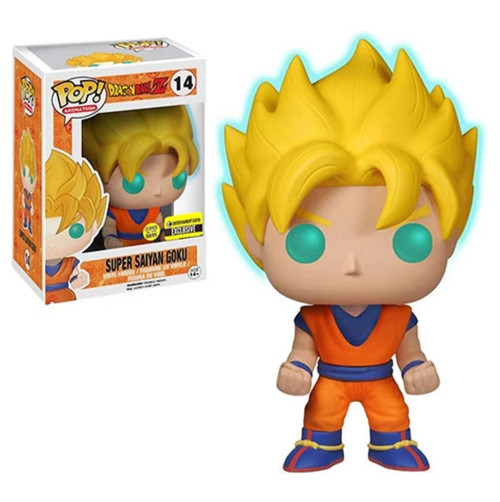 Funko POP - Super Saiyan Goku - Glow in the Dark (EE Exclusive) [14]