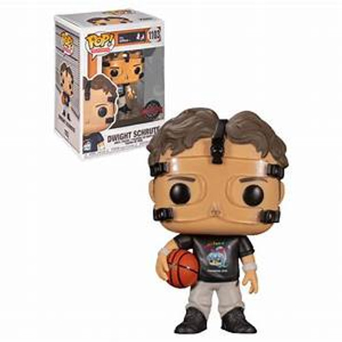 Funko POP - The Office Basketball Dwight Schrute (SPECIAL EDITION) [1103]