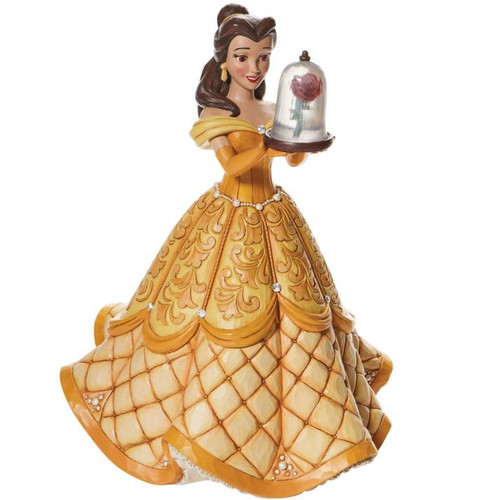 """Disney - Belle Deluxe A Rare Rose """"Beauty and the Beast"""" (Jim Shore)"""