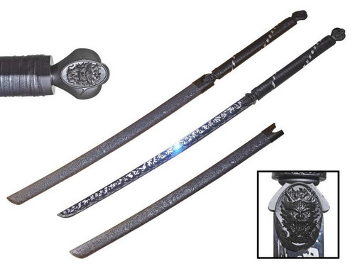 """46"""" Chinese Sword (65Mn Spring Steel Hand Forge)"""