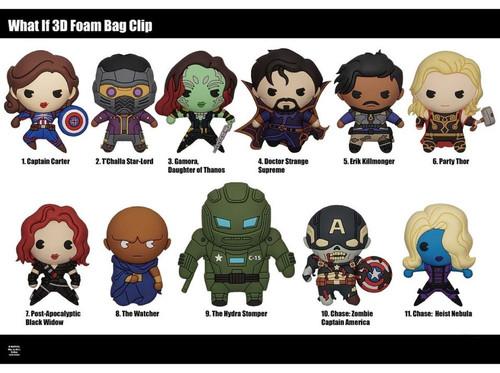 3D Foam Key Ring - Marvel Avengers What If