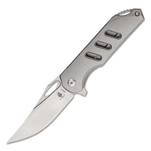 "Assassin - Flipper Pocket Knife (3.15"" Satin S35VN) Kizer Cutlery Ki3549A1"
