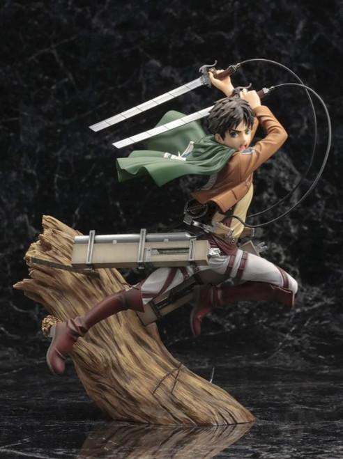 "Figure Anime - EREN YEAGER ""ATTACK ON TITAN"" ARTFX"
