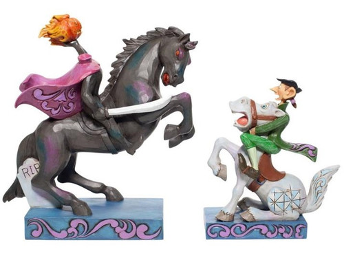 Disney - Headless Horseman and Ichabod (Jim Shore) Statue