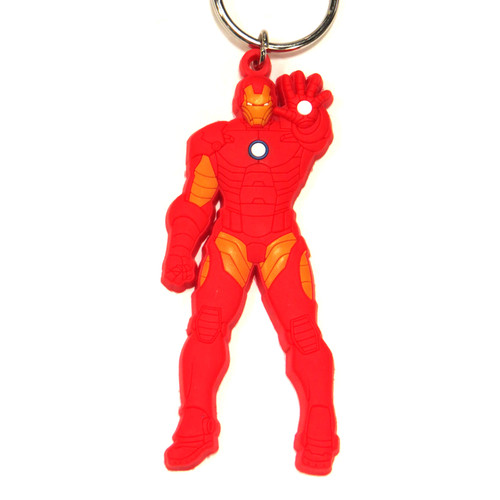 Marvel Iron Man PVC Keychain