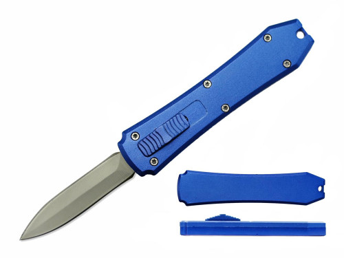 Mini OTF Knive Double Sided (BLUE)