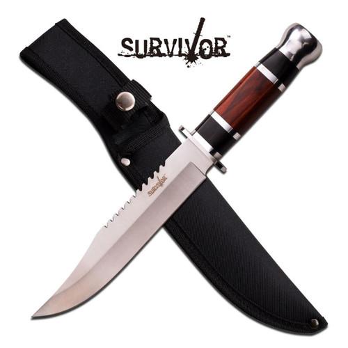 Survivor - Fixed Blade BR/BK