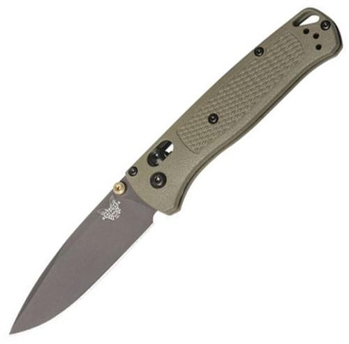 """Benchmade Bugout Folding Knife AXIS Lock Nylon Green [3.24"""" Gray S30V] 535GRY-1"""