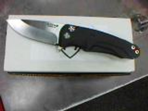 "Medford Smooth Criminal Manual Knife Plunge Lock Black Aluminum [3.0"" Plain Black S35VN] MK039STQ-06ABSSCS-BP"