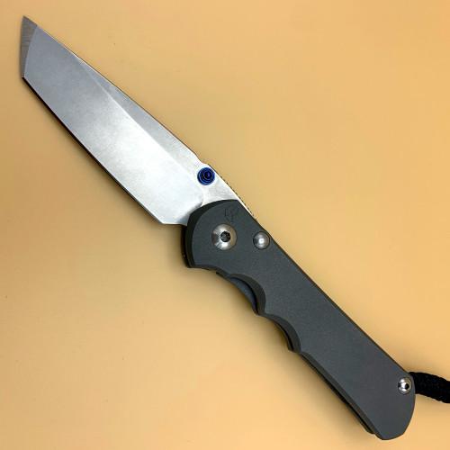 """CRK Large Inkosi Manual Knife (Plain Handle) [3.60"""" Plain Stonewash] Tanto"""