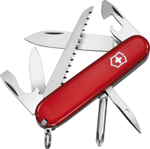 Victorinox Hiker Multi Tool Red [13 Tools] VN53831