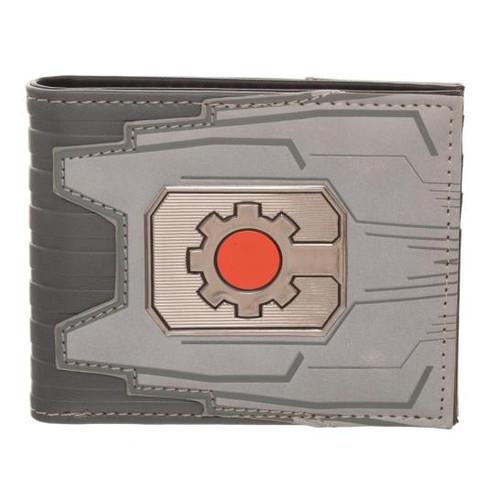Cyborg Chrome Weld Patch Bi-fold Wallet