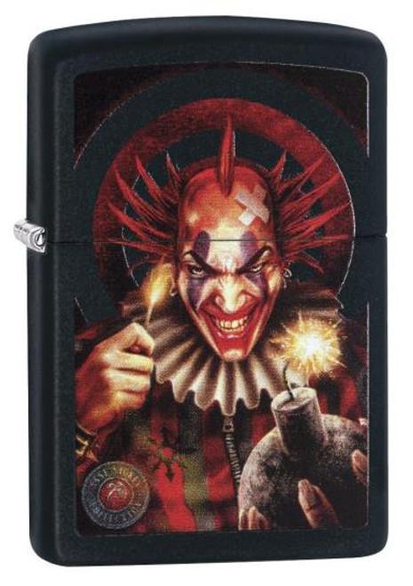Anne Stokes Clown Zippo