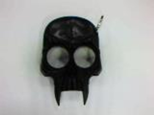 SKULL Self Defense Keychain (BLACK)