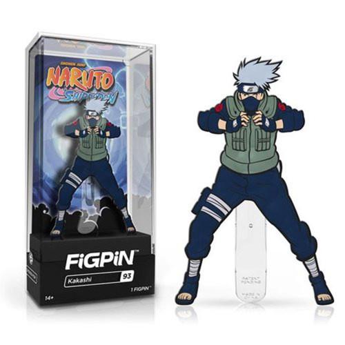 Naruto Shippuden Kakashi FiGPiN #93 Enamel Pin